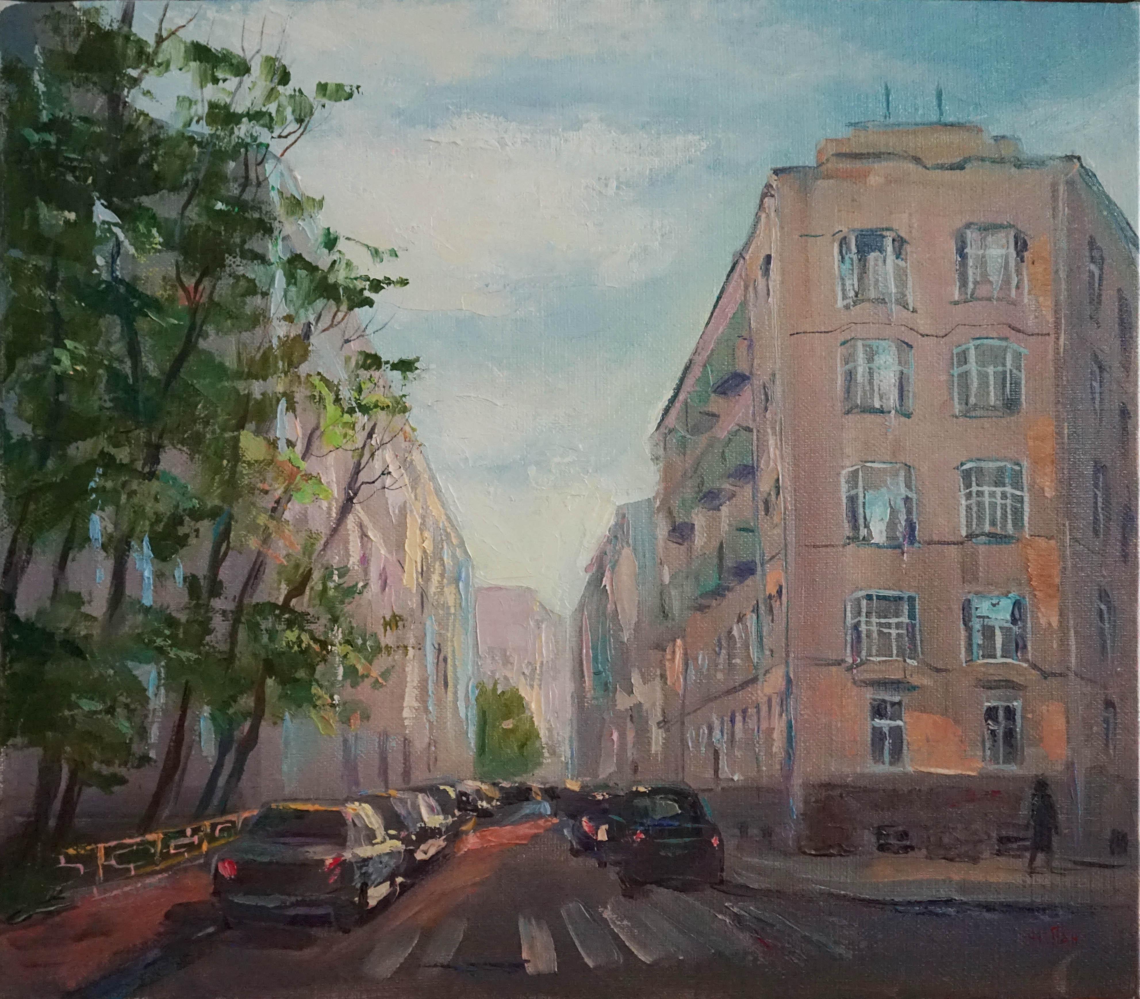 Нина Панюкова Скатертный переуок 30х35 х м