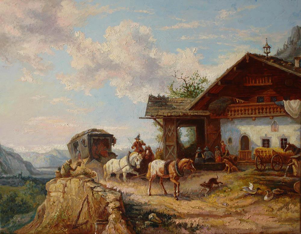 Александр Панюков Копия. х. м. 40х50