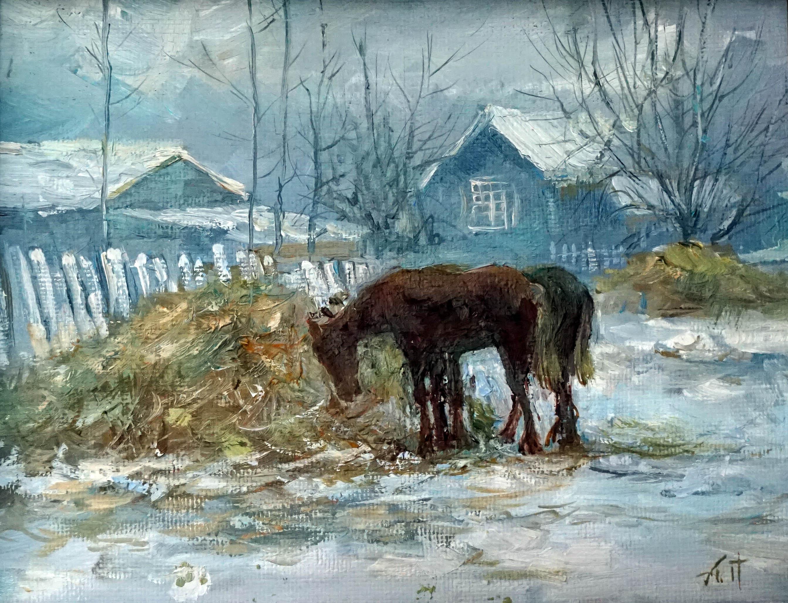 Александр Панюков Ароматное сено 20х25 х м