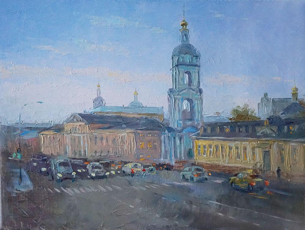 Панюкова Нина Яузкая улица 30х40 х м