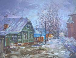Александр Панюков Вот и весна 30х40 х м