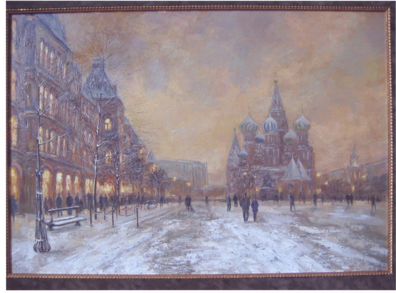 Нина Панюкова Москва Кремль 80x100