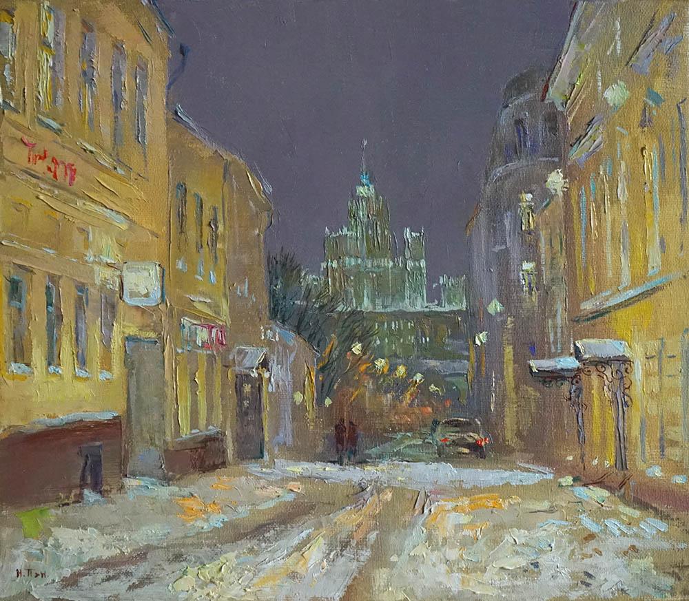 """Нина Панюкова """"Большой Спасоглинищевский переулок""""."""
