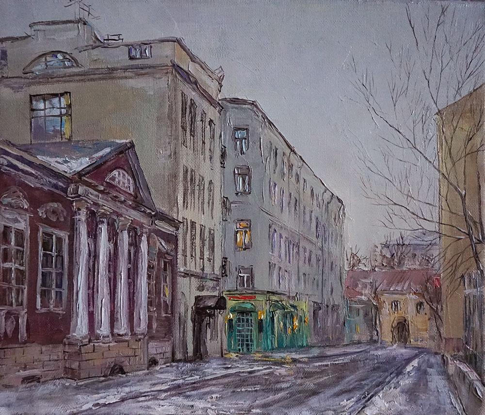 "Нина Панюкова ""Сытинский переулок""."