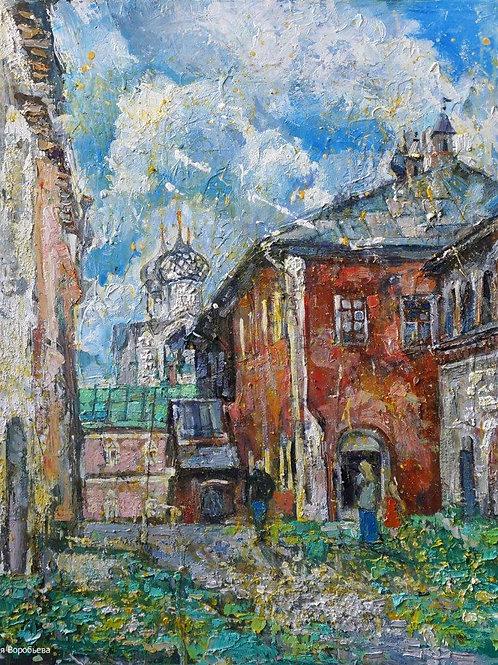 Тёплый дворик Ростовского Кремля