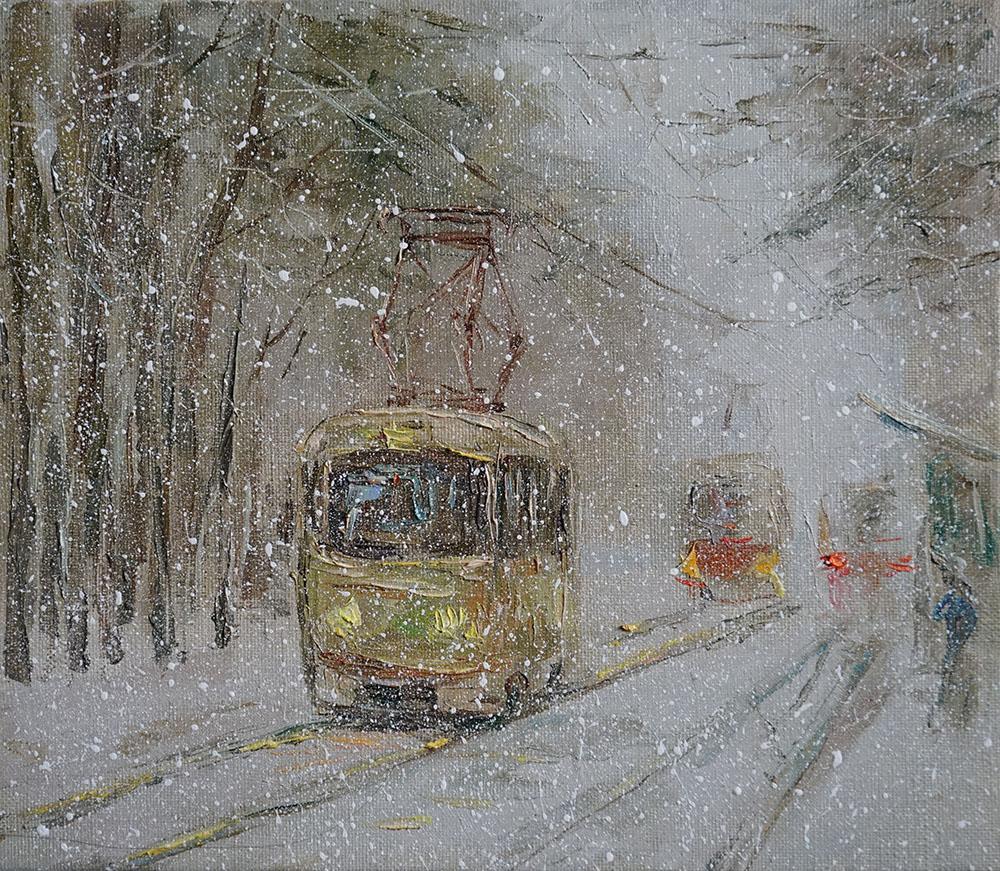 """Нина Панюкова """"Зима. Метель""""."""