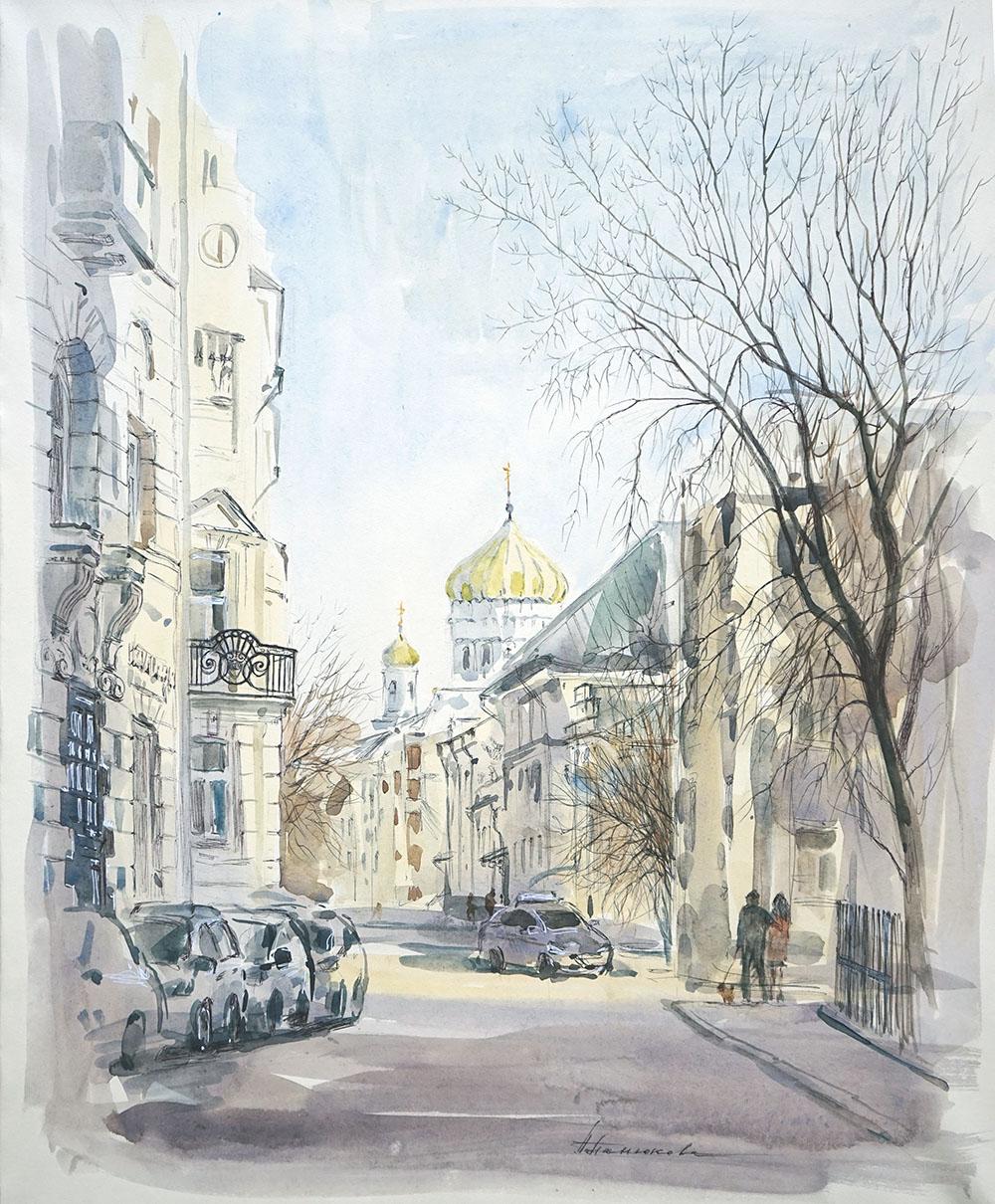 """Нина Панюкова """"Уютный Гагаринский переулок."""""""