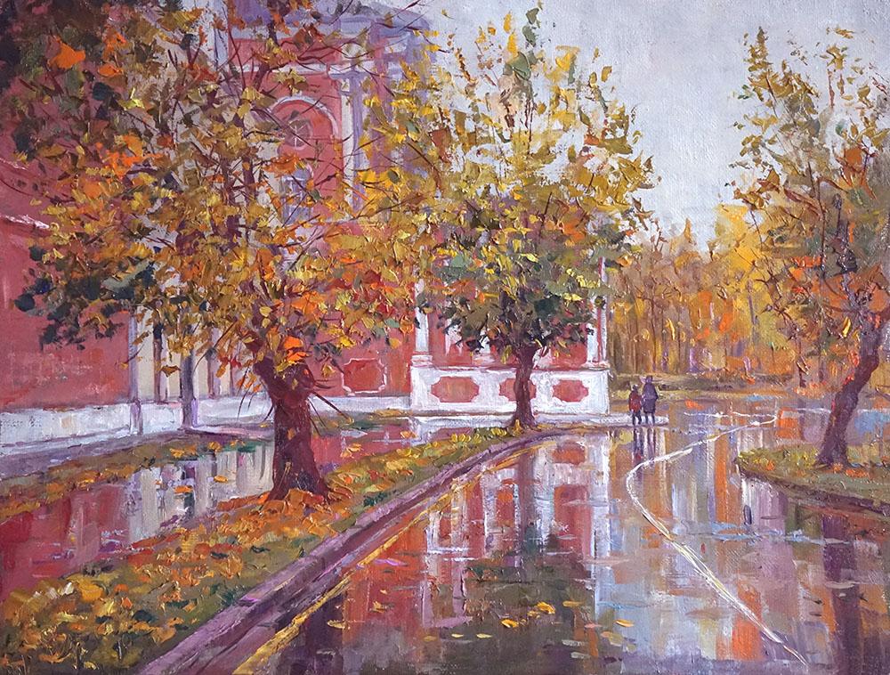 "Александр Панюков ""Тёплая дождливая осень""."