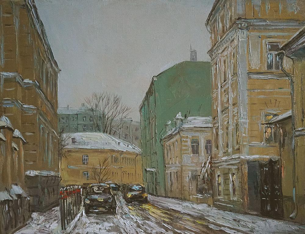 Нина Панюкова Сверчков переулок 30х40 х м