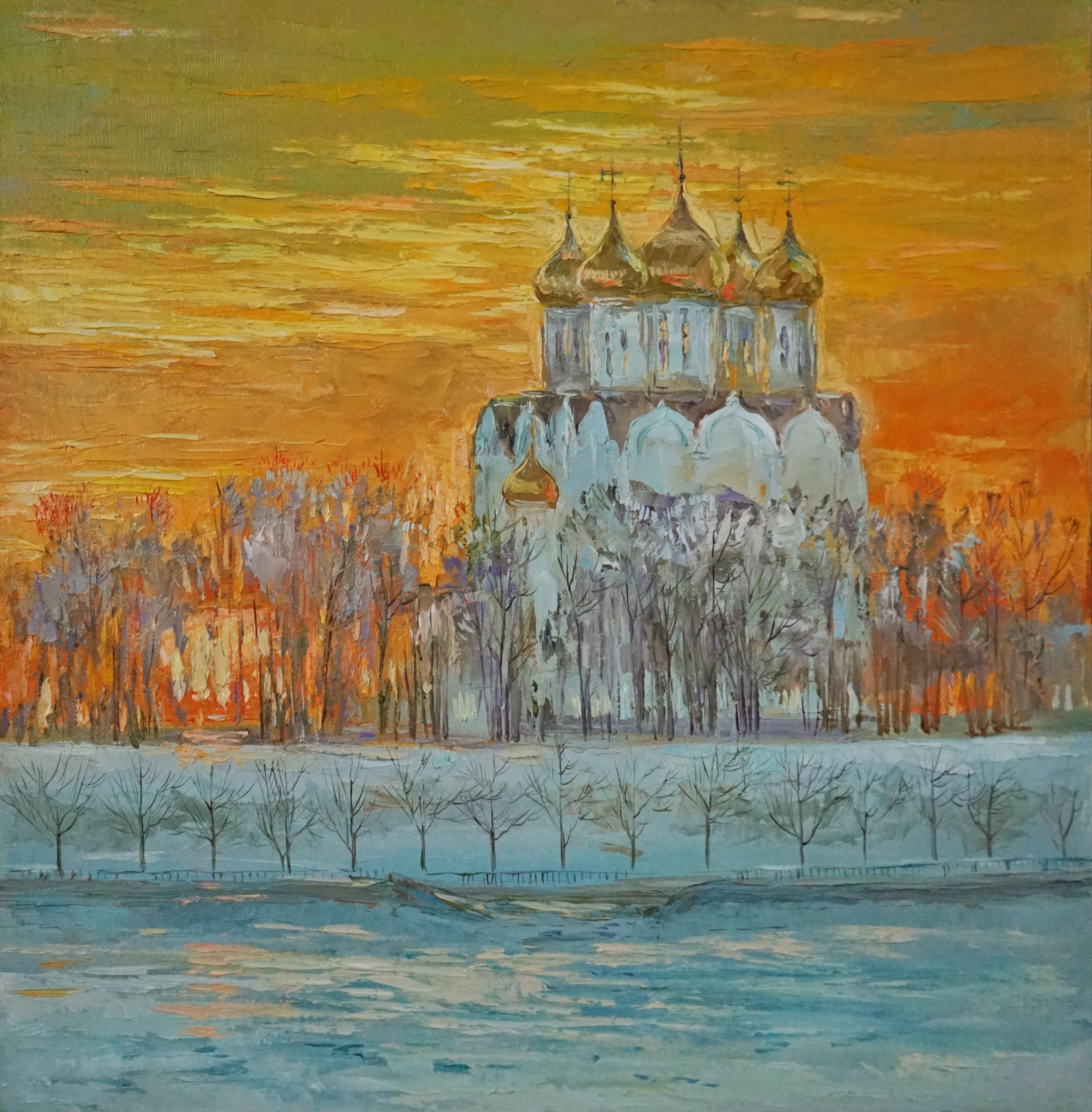 Нина Панюкова Золотой перезвон 40х40 х м