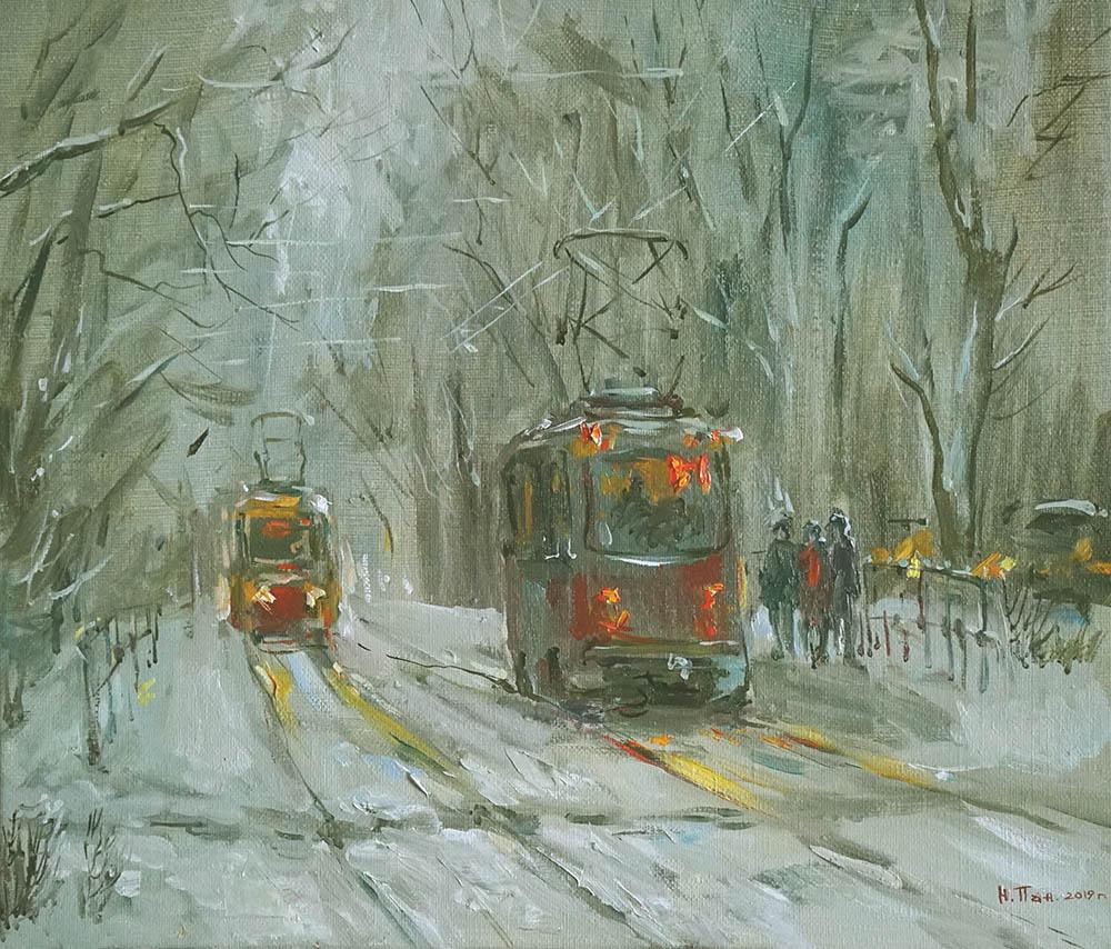 "Нина Панюкова ""Спеши трамвайчик, тороплюсь""."
