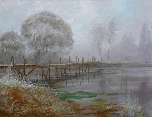 Александр Панюков Воспоминания. 80х100, х. м.
