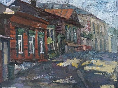 Улочка в Серпухове