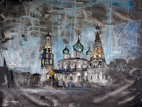 """Дарья Воробьева """"Вечер в Ярославле"""""""