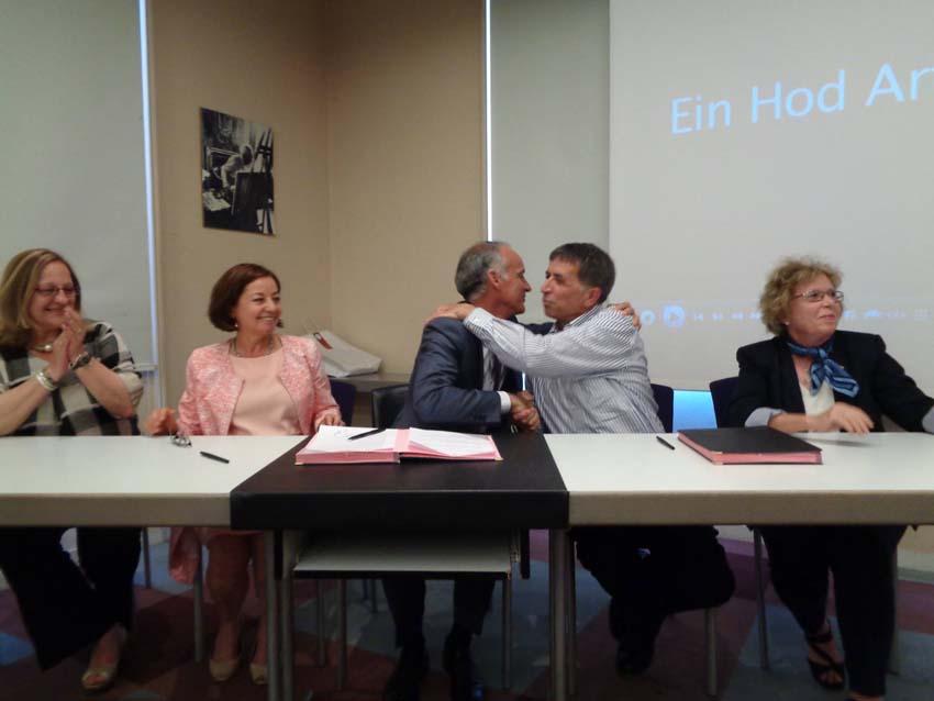 Convention signée avec Ein Hod