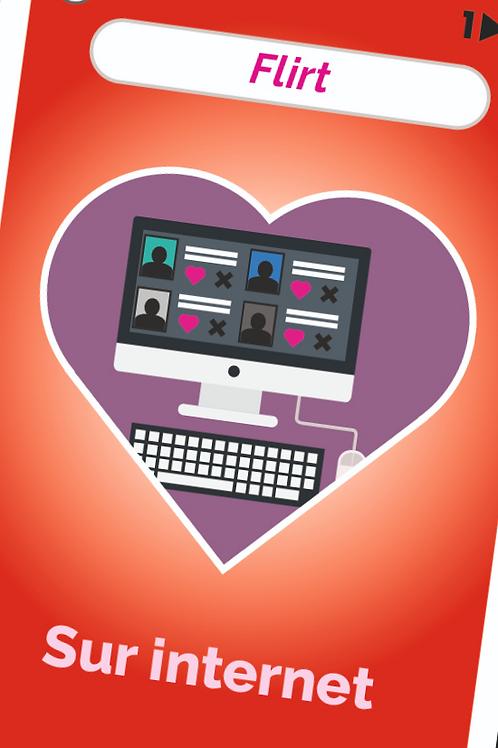 Flirt sur internet