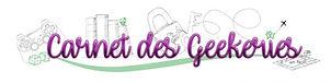 logo carnet des geekeries