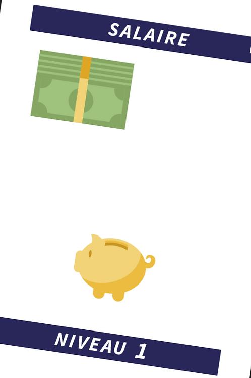 Salaire niveau 1