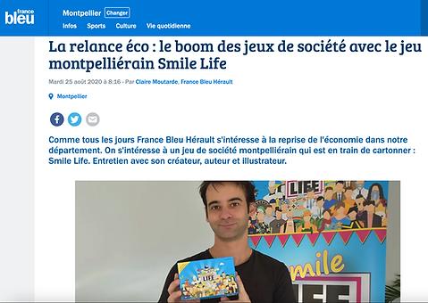 France bleu hérault reportage smile life