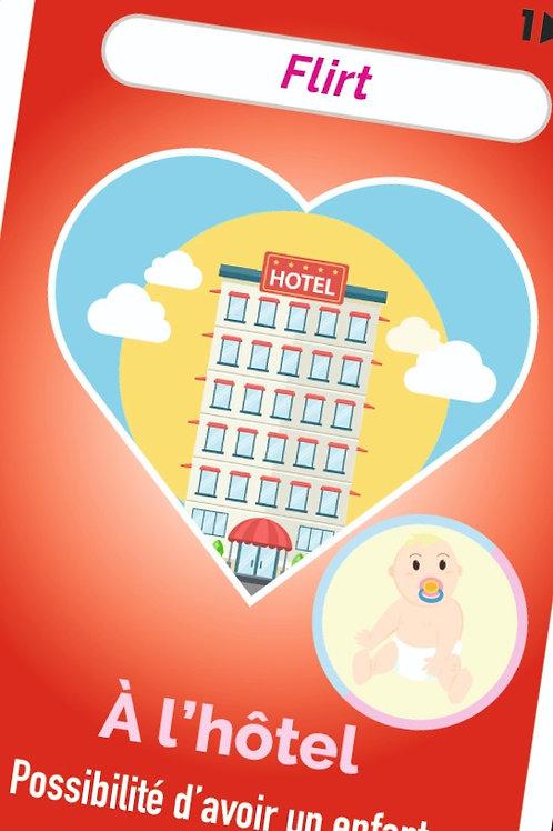 flirt à l'hôtel