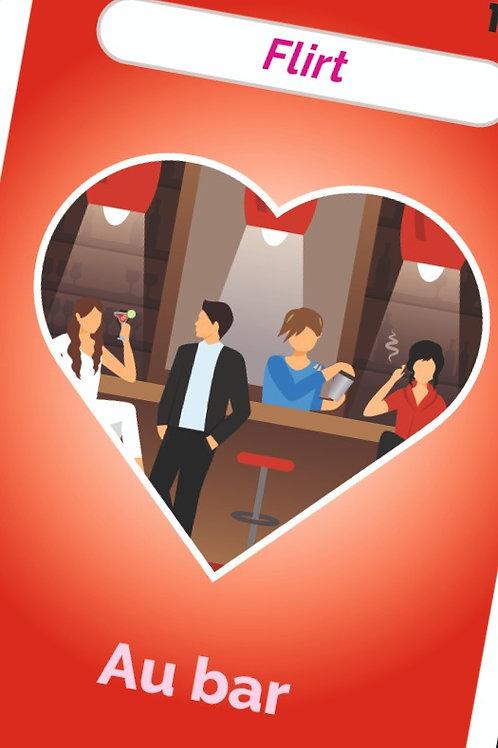 Flirt au bar