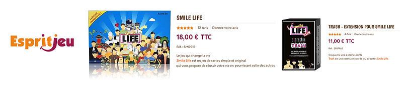acheter smile life chez esprit jeu