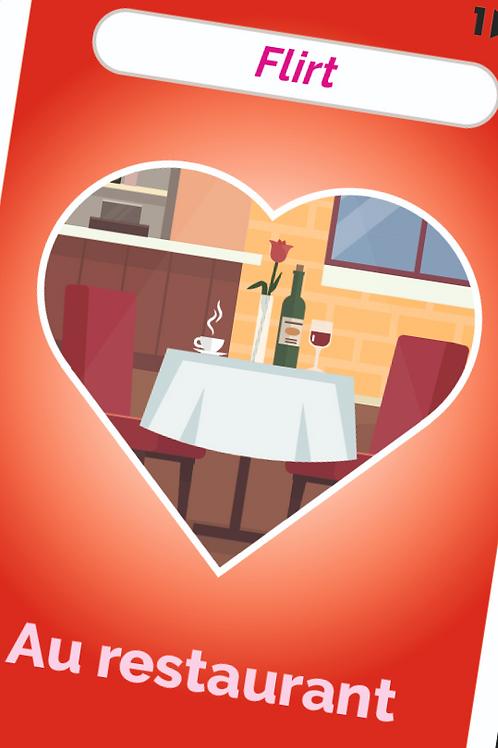flirt au restaurant
