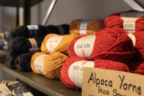 Inca Spun Alpaca Yarn