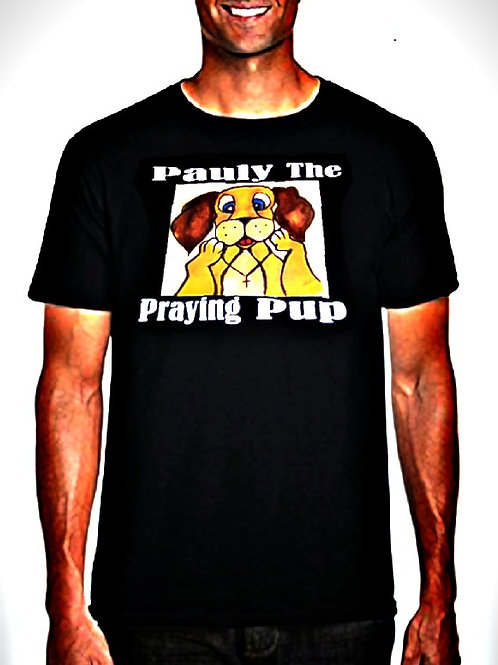 Pauly The Praying Pup T-Shirts