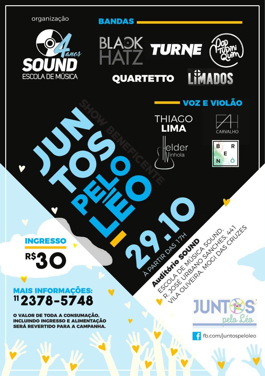 """Evento Beneficente """"Juntos Pelo Léo"""""""