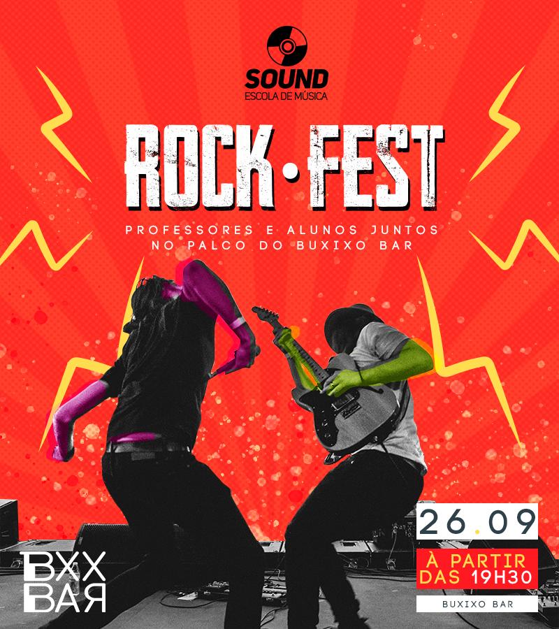 6º SOUND Rock Fest no Buxixo Bar