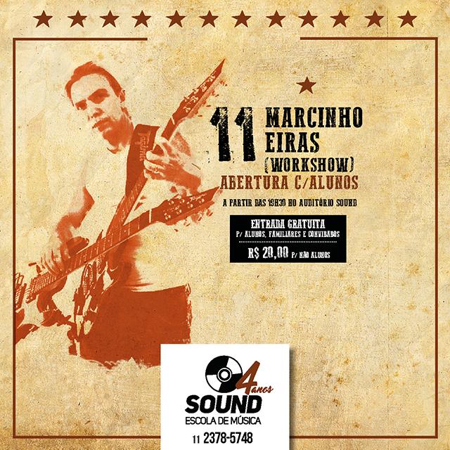 Aniversário Sound com Marcinho Eiras