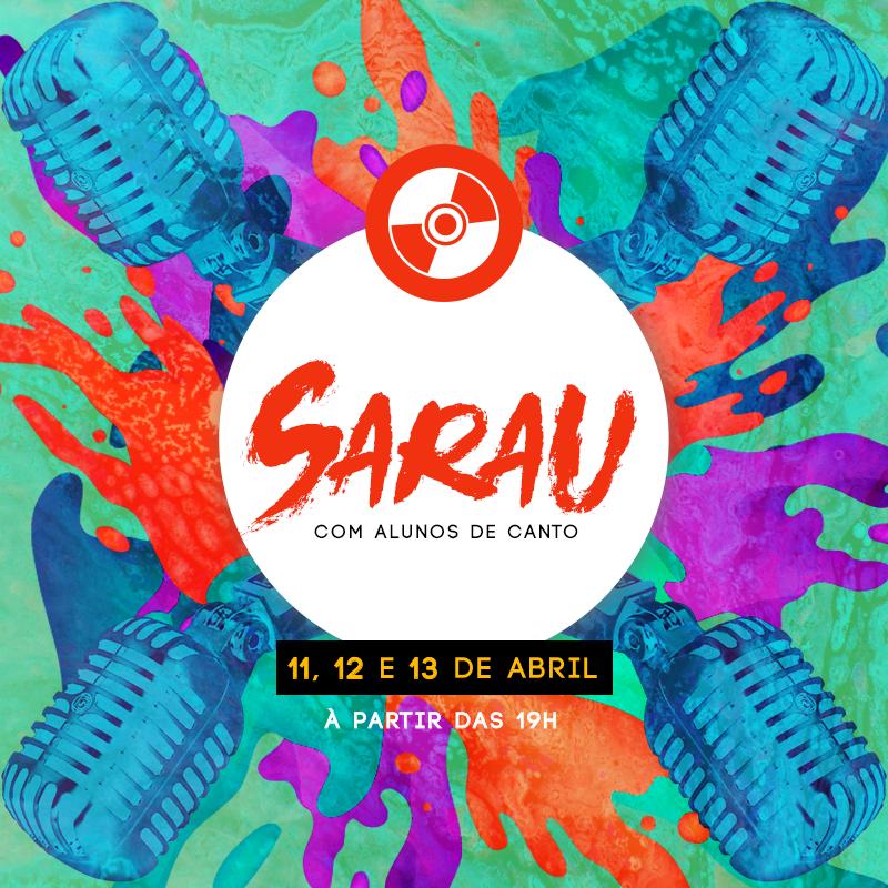 Sarau de Canto (3 dias)