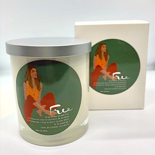 Soy Candle - 'Free'