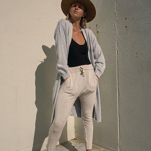 Hazel Fine Cardigan Dove Grey