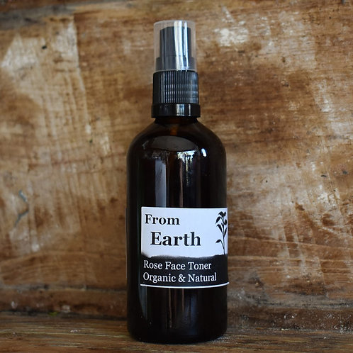 From Earth Organic Firming Face Toner
