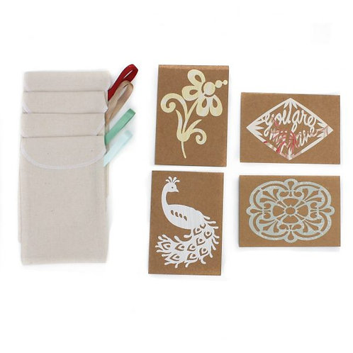 Reusable Gift Cards Set 4
