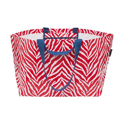 Project 10 - Red Zebra Oversized Tote