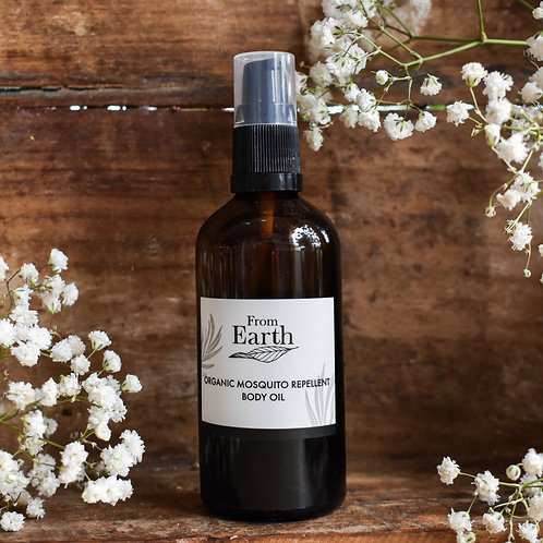 From Earth - Mosquito Repellant Oil
