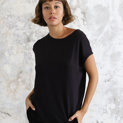 Layer Tee in Black
