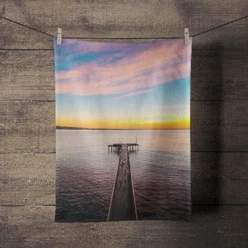 Tea Towel Lorne Pier