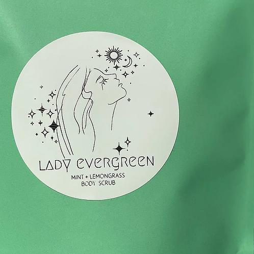 Lady Evergreen Mint & Lemon Body Scrub