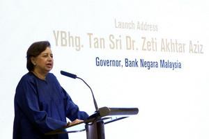Bank Negara a role model under Zeti