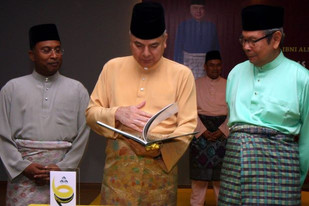 Perak Sultan tells religious officers to carry out duty with prudence