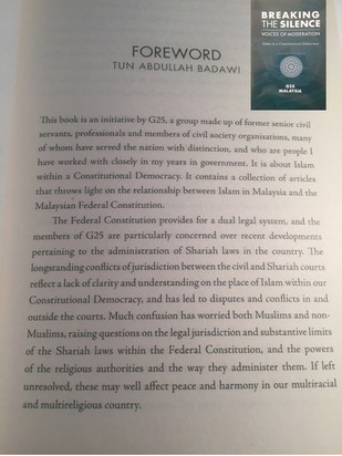 Book endorsed by Pak Lah banned