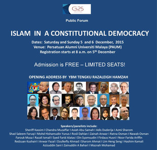 Islam In A Constituitional Democracy