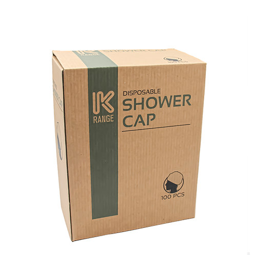 DISPOSABLE SHOWER CAP 100PCS