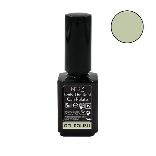 KOKO BLACK ONE STEP GEL 15ML ONLY THE REAL CAN RELATE N23