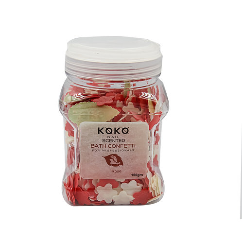 BATH CONFETTI 150g ROSE