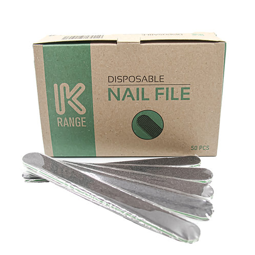 DISPOSABLE NAIL FILE WHITE GRIT 80 / 150